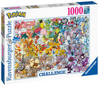15166 Ravensburger Challenge - Pokemon Jigsaw Puzzle 1000 Pieces Ages 12 Years+
