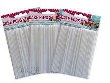 50x CAKE POPS STICKS Lollipop Kuchen am Stiel Lutscher TOP Qualität-Sparpreis