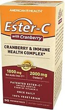 Ester-C With Cranberry (formerly Ester_C Urinary Tract Formula) American Health