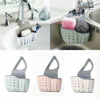 Hanging Drainer Basket Sink Shelf Soap Sponge Drain Bathroom Drainer Holder Y6Q2