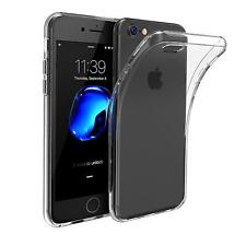 For Apple iPhone Slim Case Crystal Clear Soft Silicone Gel Bumper Cover