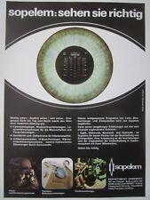 3/1980 PUB SOPELEM ARMEMENT JUMELLES NIGHT VISION PERISCOPE EPISCOPE GERMAN AD