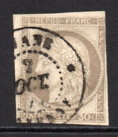 France Colonies 30 Cent Stamp c1872-77 Used (5533)