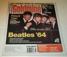 GOLDMINE MAGAZINE  FEB. 20, 2004 /  BEATLES: COVER, FEATURE & 1964 DISCOGRAPHY