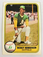 1981 Fleer Rickey Henderson #574 NM