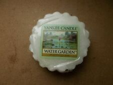 Yankee Candle Usa Rare Water Garden Wax Tart.