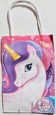 Unicorn paper gift bag, party loot bag with handles, Birthday, celebration etc