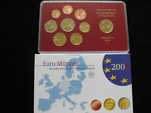 """KMS Deutschland 2006 """"J"""" 1 Cent-2+2 Euro PP Kursmünzensatz Münzen Sammlung"""