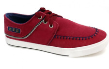 Low Cut High Quality D-510 Men's Rubber Sneakers Shoes (Maroon)  Size 40