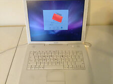 "Apple iBook G4 A1055 14.1"" Laptop UN-Tested AS-IS Works Has A Password"