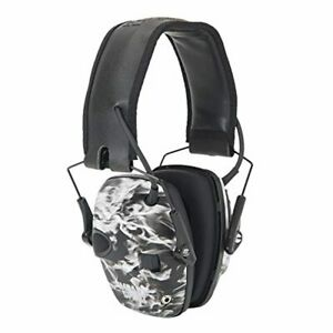 By Honeywell Impact Sport Sound Amplification Electronic Shooting Earmuff, Green
