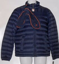 Dockers Men's On-The-Go Down Jacket Packs Into Neck Pillow Navy Small (S) NWT