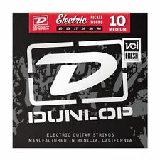 Dunlop 10-46 Nickel Medium Electric Guitar Strings Made in USA DEN1046