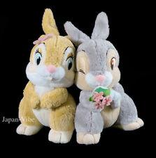 "Miss Bunny & Thumper 7"" Plush Set pair Tokyo Disney Resort Japan Limited Bambi"