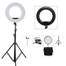 Yidoblo FS-480II LED Ring Light Kit Photoraphy Continuous Lighting Stand w/ Bag