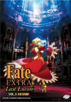 DVD Anime FATE / EXTRA: Last Encore! Complete Series (1-10 End) English Subtitle