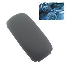 Universal Car Black Fabric Armrest Center Console Durable Cloth Cover Pad Box C