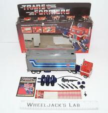 Optimus Prime T5 MIB 100% Complete C 1985 Vintage Action Figure G1 Transformers