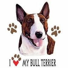 Bull Terrier Love Tote