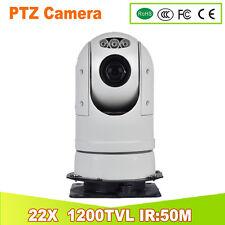Police vibration-proof mobile IR 22x ZOOM CAR PTZ CAMERA 1200TVL SPEED DOME