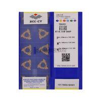 10pcs//Box ZCCCT Drilling CNC Blade RT16.01N-G60P YBG201