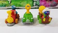 Vintage Sesame Street Muppets Diecast Cars Hasboro Playskool 1980s