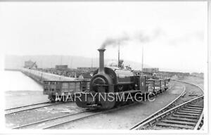 B5 British Railway Photograph Winifred HE 364-85 Port Penrhyn 28-5-1954