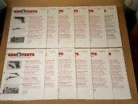 Gun Tests Consumer Magazine Lot of 12 Issues Complete January - December 1995