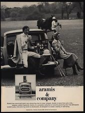 1975 ARAMIS Cologne - Polo Players - Gear - Horse - VINTAGE ADVERTISEMENT