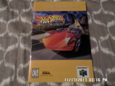 Hot Wheels Turbo Racing (Nintendo 64) Instruction Manual Booklet Only... NO GAME