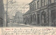 Gronau i. W., Bahnhofstraße, Postkarte 1904