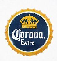 "Corona Beer Decorative Bottle Cap Bar Pub Retro Man Cave Metal Tin Sign 13.8"""