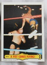 1985 Topps WWF Wrestling #34 Tito Santana Wrestling Card nm-mt