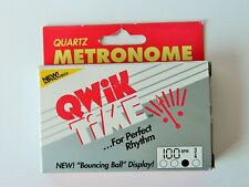 New Qwik Time Qt5 Qt-5 Credit Card Metronome Ships Free to Usa