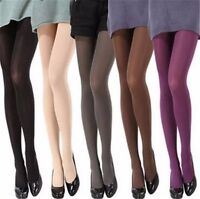 Women Candy Color Socks Nylon Pantyhose Winter Tights Party Ladies Stockings