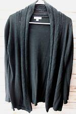 a52b1acf91ae1 Liz Lange Maternity Black Cardigan Small Cotton Blend Women's Sweater