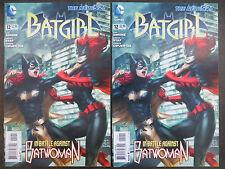 Batgirl #12 2X Copies New 52 Stanley Artgerm Lau Batwoman Movie Coming! 2012 DC