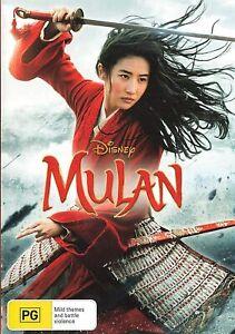 Mulan (DVD, 2020) (Live Action)