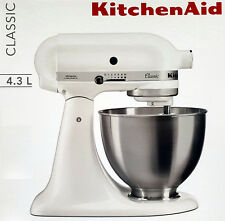 Kitchen AID ROBOT DA CUCINA, impasto-IMPASTATRICE Classic 5 K 45 SSEWH 4,3l, 275 W, Bianco