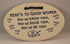 Mountaine Meadows Pottery Plaque -- Good Women