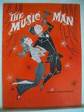 THE MUSIC MAN Souvenir Program HARRY HICKOX / DIANNE BARTON Tour 1962
