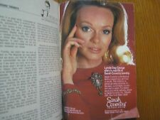 1974 TV Guide(LYNDA DAY GEORGE/SOUL TRAIN/DON CORNELIUS/J D CANNON/ROBERT MORLEY