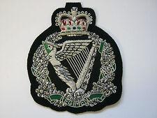 Royal Irish Regiment Wire Embroidered Bullion Blazer Badge - British Army