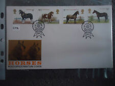 great britain FDC 1978 horses .royal show kenilworth postmark CAT £17+