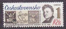 CZECHOSLOVAKIA 1986 USED SC#2639 Stamp Day