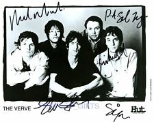 THE VERVE SIGNED PHOTO RE-PRINT RICHARD ASHCROFT #276