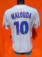LYON Jersey Maillot Camiseta Home 2006 2008 Umbro Malouda #10 Olympique Lyonnais