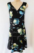 V Neck Skater Sleeveless Dresses NEXT