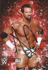 WWE WRESTLING: Zack Ryder firmata 6x4 foto ritratto + COA ** prova **