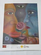 Giclee Print canvas Art Galleries International Limited Edition with COA